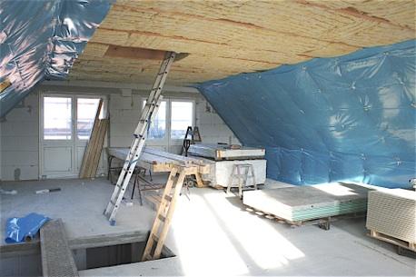 Dampfsperre Dachboden Trendy Rockwool Rocktect Dampfbremse Centitop